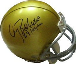 Gary Beban signed UCLA Bruins Replica TB Mini Helmet 67 Heisman - $47.95