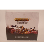 Warhammer Age of Sigmar Champions Booster Box Packs AR Trading Cards - $24.95