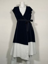 Joie Mahesa Dress Sleeveless Navy White Women Sz XS NEW NWT - $199.99