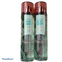 Bath Body Works COCONUT MINT DROP Fine Body Mist Spray Bundle of 2 NEW - $48.00