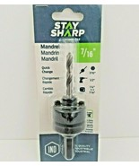 """Quick Change Mandrel 1054272 Stay Sharp by EAB 7/16"""" Professional NEW - $18.99"""