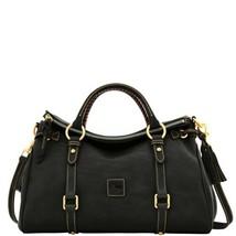 Dooney & Bourke Florentine Leather Small Satchel - Black - $298.00