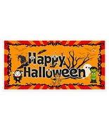 Happy Halloween Party Banner Backdrop Decoration - $19.80