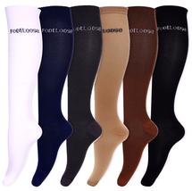 Compression Socks Mens Women Athletic Knee High Large Men 10-13 Womens 1... - $35.09