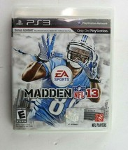 PS3 Madden NFL 13 (Sony PlayStation 3, 2012) Complete Tested - $3.95
