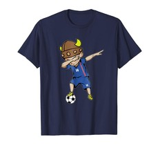 Sport Shirts - Dabbing Soccer Boy Iceland Jersey T-Shirt - Number 14 Tees Men - $19.95+