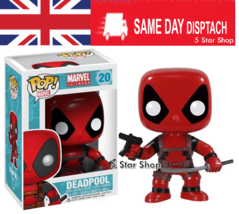 Deadpool Booble Head Action Figure + Box  130 - Cheapest in UK - $15.44
