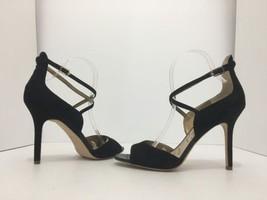 fd0c0ce81c6c Sam Edelman Audrey Women  39 s High Heels Sandals Open Toe Black Suede Size