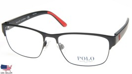 New Polo Ralph Lauren Ph 1171 9038 Matte Black Eyeglasses Frame 55-17-145 B37mm - $98.98