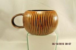 STARBUCKS 12 OZ Brown COCONUT TIKI MUG LIMITED EDITION 2013 coffee mug  - $10.39