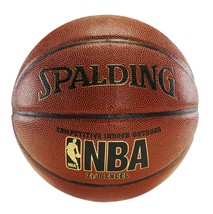 Spalding Basketball Ball Leather NBA Official Size Outdoor Indoor Sport Game - $45.74