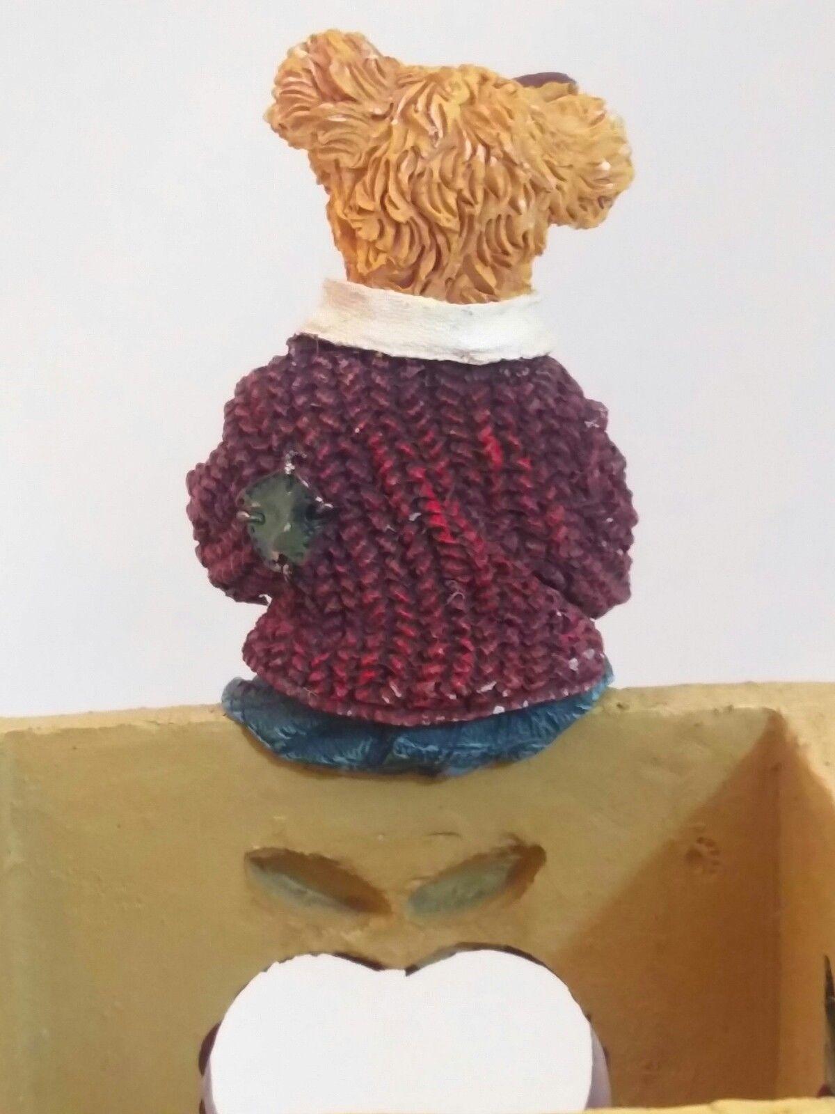 The Bearstone Collection Miss Ann Lighten's Pencil Holder #4016624 Teacher Gift image 4