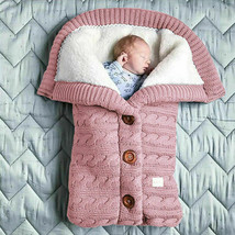Newborn infants Wearable Baby Warm fleece Sleeping Bag, Baby Sleeping Ba... - $22.72