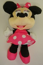 "Fisher Price Talking MINNIE MOUSE Pink Polka Dots Plush 11"", Used - $9.89"