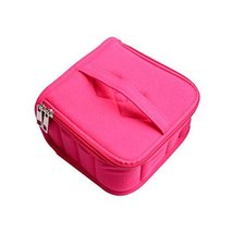 Essential Oil Carrying Case Holds 13 Slots Best For 15/115/ ml(rose Red) image 2