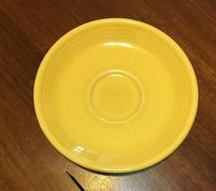 1 Fiesta Saucers in Sunflower By Homer Laughlin - $3.95