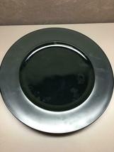 Dinner Plate Variations By Rosenthal - Continental Black Mat Rim - $42.07
