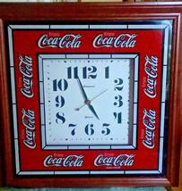 Vintage Large Hanover Coca-Cola Clock - £159.78 GBP