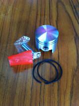 Piston Kit Ring Set Pin Clip fit MITSUBISHI TL33 TL 33 Japan Chinese BG3... - $20.14