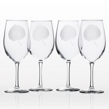 Aspen Leaf 18 oz. Clear All Purpose Wine (Set of 4) - $64.04