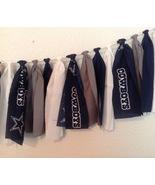 Nfl Dallas Cowboys Fabric Banner Bunting Garland Birthday Room Decor Han... - $30.00
