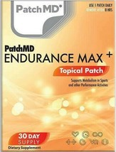 New Formula! PatchMD Endurance Max Topical Vitamin Patch 30 Day Supply P... - $14.99