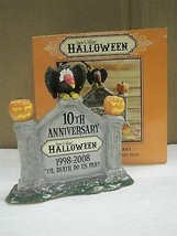 DEPARTMENT 56- 805026 HALLOWEEN ANNIVERSARY SIGN- RETIRED -NEW- L131 - ₨933.43 INR
