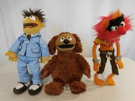 Muppets Rowlf Plush Bean Bag Doll Disney +  Muppets  Walter Boy + Muppet... - $82.19