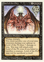 Magic: The Gathering 3rd Edition - Lord of the Pit - $0.25