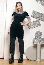 80s vintage velvet dress - $34.75