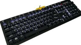 Croad K38 Mechanical Gaming Keyboard English Korean Waterproof (Blue Switch) image 2