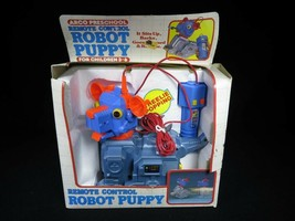 ARCO 1985 Battery Operated Remote Control ROBOT PUPPY - $30.93