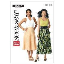 Butterick Patterns B5737 Misses Skirt, All Sizes - $8.33