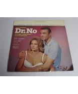Dr. No James Bond Soundtrack 1963 ORIGINAL Vintage Vinyl LP Record Album - $37.18