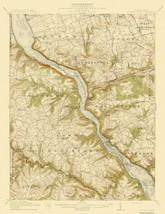 Mccalls Ferry Pennsylvania Quad - USGS 1912 - 17 x 22.06 - $36.95+