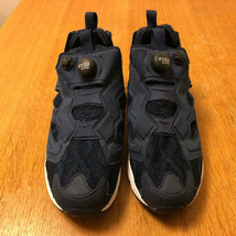 Men 9Us Reebok Pump Fury Mita Sneakers Bespoke Navy Knit - $219.99