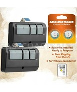 2 For 893lm Garage Remote Control Yellow Learn Button Liftmaster 891lm 9... - $19.36