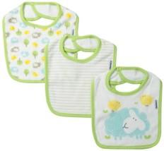 Gerber Unisex-Baby Newborn 3 Pack Terry Dribbler Bib - $16.22
