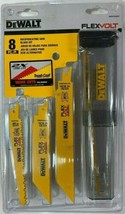 Dewalt DWAFV48SET 8-Piece Flex Volt Reciprocating Saw Blade Set Usa - $17.82