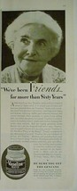 """1933 """"Friends for more than 60 years VASELINE White"""" Print Advertising - $12.95"""