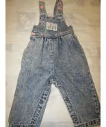 Lee Baby Size 18 Months 100% Cotton Denim Bib Overalls Made In USA Blue ... - $19.99