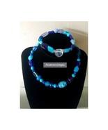 Beaded Necklace and bracelet set - $13.54