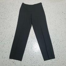 Ann Taylor Women's Dress Pants ~ Sz 6 ~ Gray ~ Lined ~ Straight ~Wool Blend - $24.74