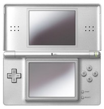 Nintendo Ds Lite Gloss Silver Game Console New - $412.53