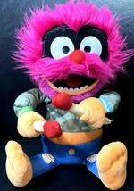 Disney Jr Muppets Babies Rockin' Animal Animated Plush Talks Sings Drums Rocking - $16.73