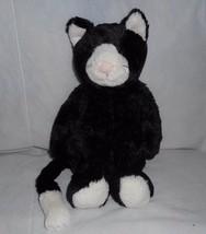"12"" Jellycat Tímido Bebé Gato Smoking Negro Suave Peluche Juguete de Felpa - $52.05"