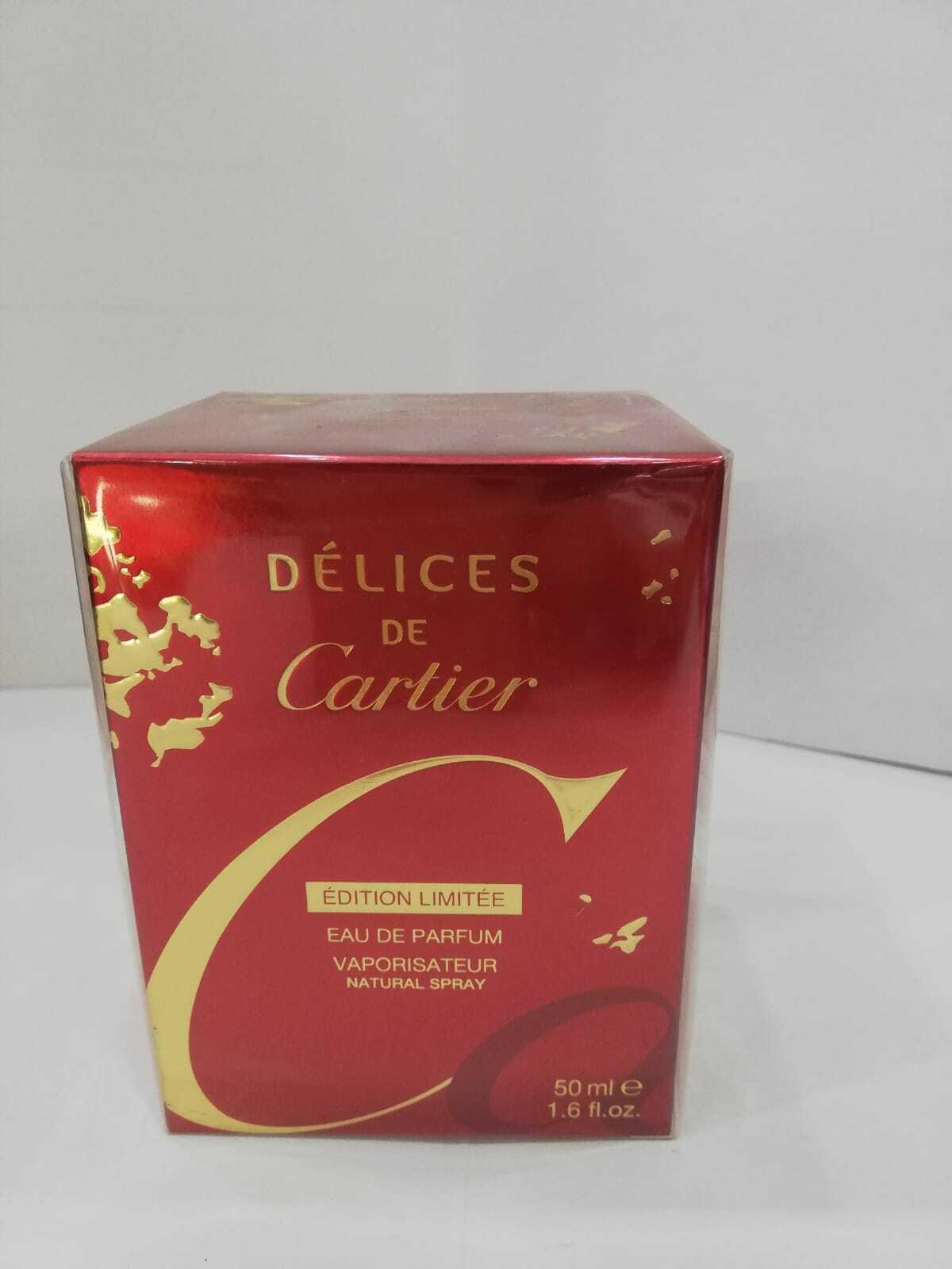 Cartier delices de cartier 1.6 oz perfume