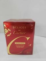 Cartier Delices De Cartier Perfume 1.6 Oz Eau De Parfum Spray image 1