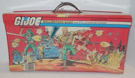 Vintage Gi Joe 1984 CARRYING CASE WITH TRAYS 100% COMPLETE GOOD CONDITION - $46.75
