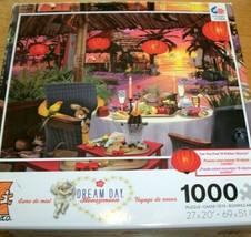 Jigsaw Puzzle 1000 Pieces Tropical Dream Day Honeymoon Hidden Items 1 Mi... - $13.85